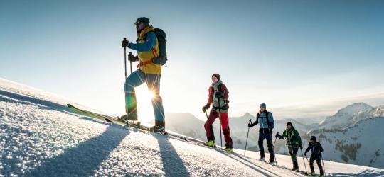Skitouren Engadin